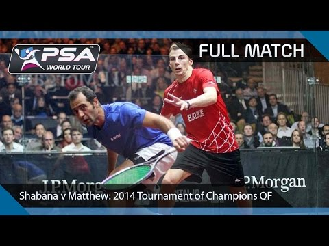 Squash: Full Match - 2014 Tournament of Champions  - Shabana