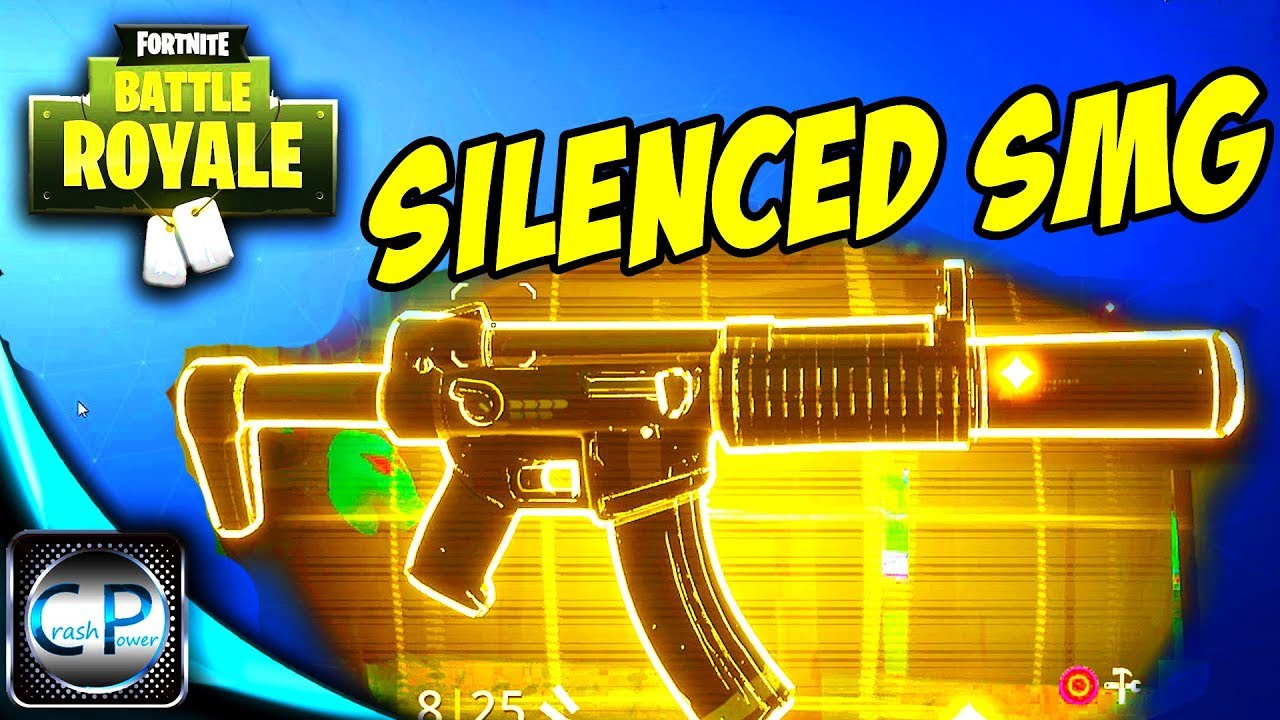 Silenced Smg Fortnite Amp Extra Gun Glitch Update Fortnite
