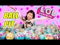 L.O.L. Surprise BALL PIT!! ?? Gold ball found!! ALL LOL Surprise Series 3 Pets 2 & 1