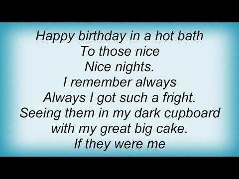 Altered Images - Happy Birthday Lyrics