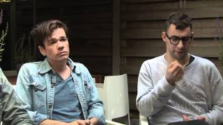 Fun interview - Nate Ruess, Jack Antonoff and Andrew Dost (part 1) Mp3