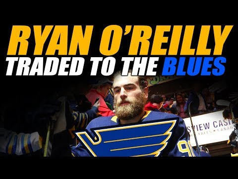 Ryan O'Reilly Traded to the St. Louis Blues