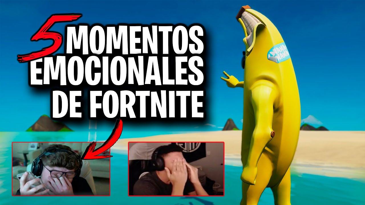 5 MOMENTOS EMOCIONALES QUE FORTNITE HA DADO | Fortnite: battle Royale (TOP MOMENTOS SENTIMENTALES)