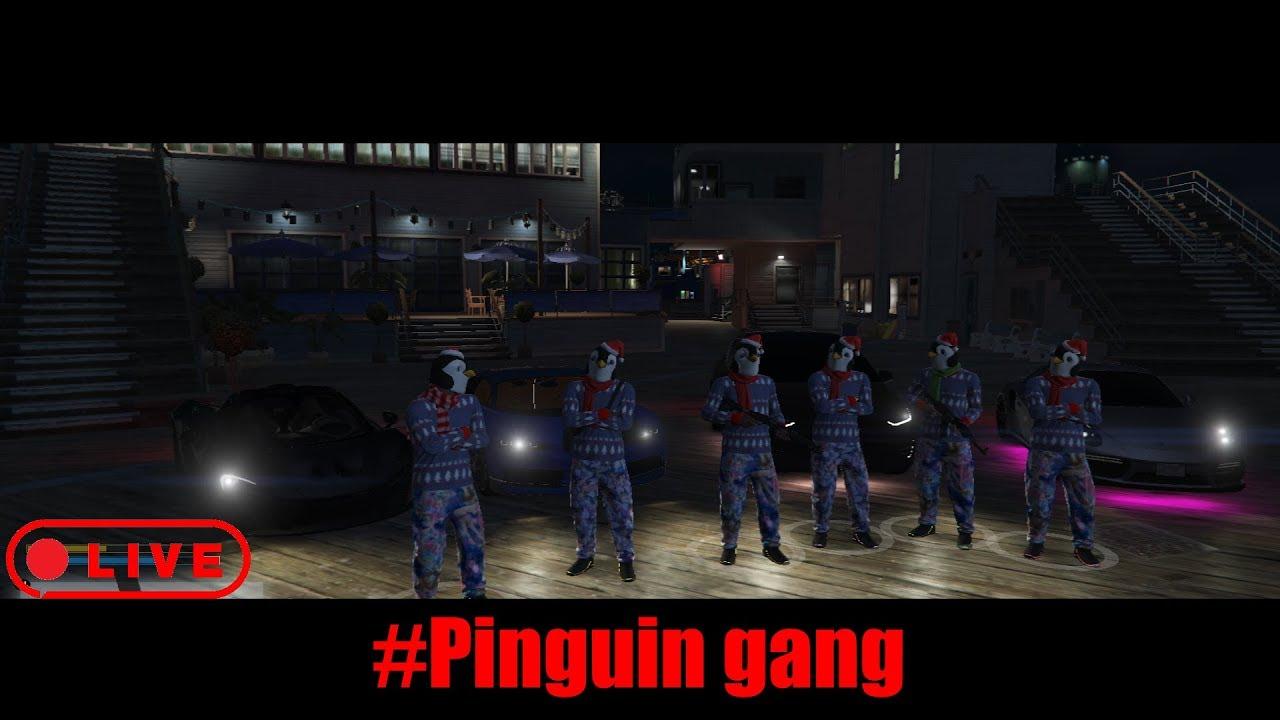 FiveM Stream / Östermalm RP / #PinguinGang! / kan vi nå 200 subs!?!?