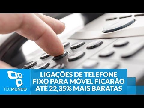 Ligações De Telefone Fixo Para Móvel Ficarão Até 22,35% Mais Baratas