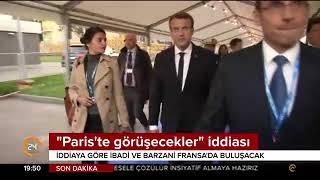 İbadi ve Barzani, Fransa'da buluşacak