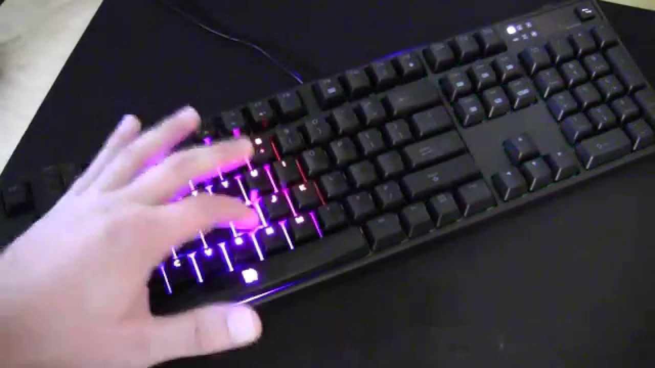 Tt Esports Poseidon Z Rgb Gaming Keyboard Unboxing Overview Illumination Youtube