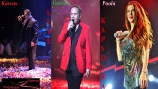 Karras | Gonidis | Paola - Mega Mix (Non Stop Mix 2013)