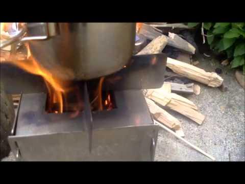 Awesome wood burning Bush Stove