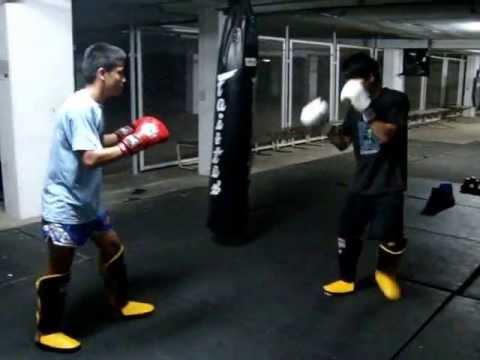 Muaythai VS Judo (Sparring MMA) Pt 2