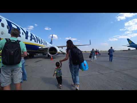 Ryanair First Flight From Ukraine