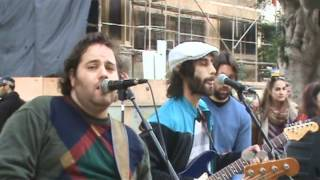 Great Reggae Band BENEI ADAM - Tel Aviv Street Party - 3rd February 2012 - Gentleman cover Superior
