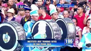TeleProgreso - Banda de Guerra del JTR San Pedro Sula  2017