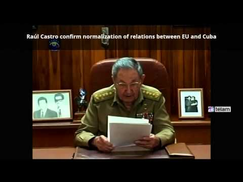 Cuba and EEUU decide to re-establish diplomatic relations - subtitled