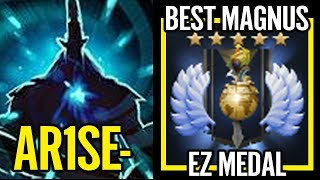 Arise DIVINE Ranking EZ Medal Hand down BEST Magnus Dota 2 Pro