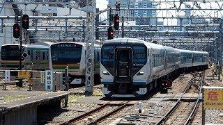 2020/06/10 【長野入場】 E257系 NA-05編成 大宮駅   JR East: E257 Series NA-05 Set at Omiya