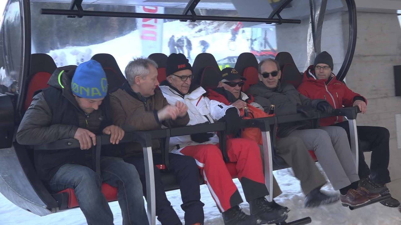 "Opening of the ""Schwamm""chairlift"