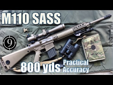 M110 SASS to 800yds: Practical Accuracy (Leupold Mk4, US Sniper Rifle)