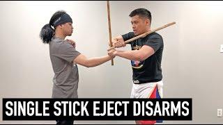 Kali Stick Eject Disarms | Filipino Martial Arts