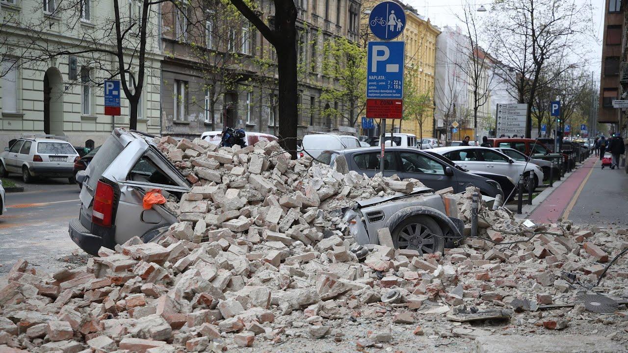 Giữa dịch bệnh, Croatia bị động đất mạnh nhất...