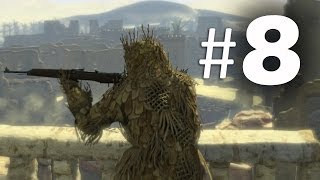 Sniper Elite 3 Part 8 - Ghillie Suit - Gameplay Walkthrough PS4