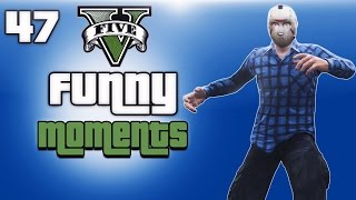 GTA 5 Online Funny Moments Ep. 47 (Lui's House, Swimming Glitch & DJ Booth/Bartender Glitch)