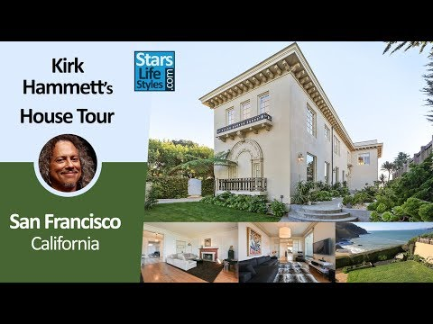 Kirk Hammett's San Francisco House Tour | California | $14 Million | Metallica Guitarist