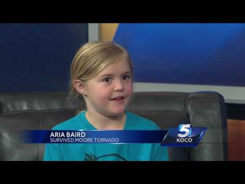 Girl who survived 2013 Moore tornado recalls day