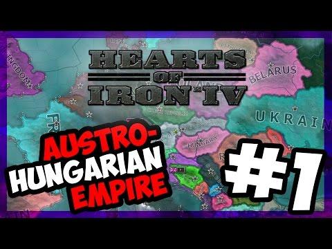 REBUILDING AUSTRIA - HUNGARY | Hearts of Iron IV - MILLENIUM DAWN - AUSTRIA - E.1