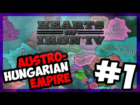 REBUILDING AUSTRIA - HUNGARY   Hearts of Iron IV - MILLENIUM DAWN - AUSTRIA - E.1