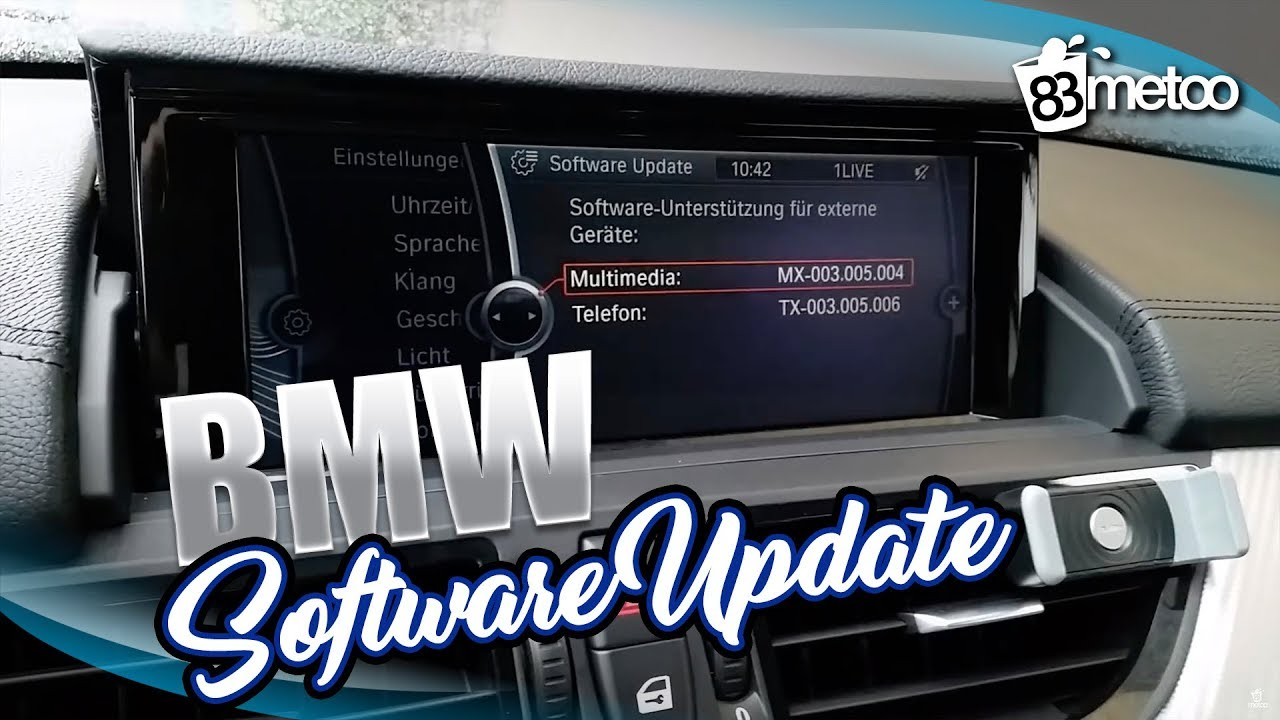 BMW Software Update >> Bmw Software Update