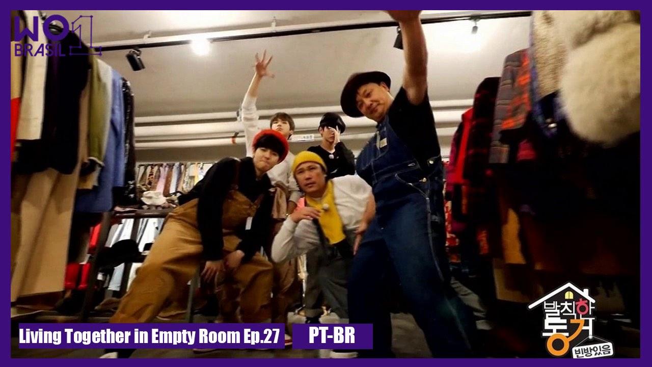 Pt Br Living Together In Empty Room Com Seongwu Jaehwan E Daniel Youtube