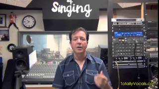 Totally Vocals Weekly Wrap Up May 15th, 2015 with Singing Tips