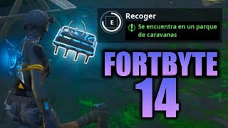 HOW TO GET FORTBYTE #14 - Fortnite Battle Royale