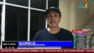 Tolak Omnibus Law, Ribuan Aktivis  Demo Digedung DPRD Jeneponto