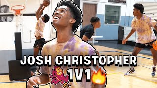 Josh Christopher, Caleb *ELITE* 1v1 with Jerome Randle