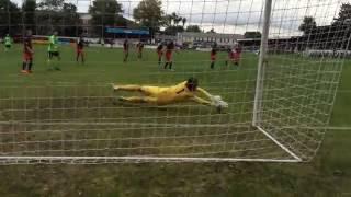Hampton and Richmond 0 Poole Town 2 - Surridge attempt