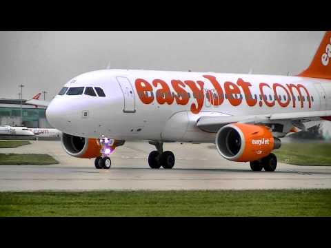 Manchester Airport Budget Airlines; easyJet, Monarch, Jet2, First Choice