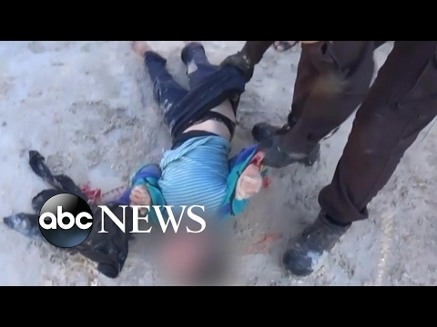 Hell on Earth: Horrific aftermath of alleged Syria chemical attack