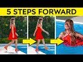 أغنية 5 STEPS FORWARD CHALLENGE! || FUNNY PRANKS AND AWKWARD SITUATIONS by 123 GO! CHALLENGE