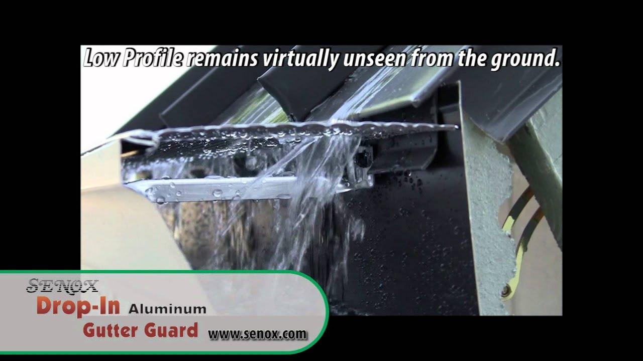 Senox Drop-In™ Aluminum Gutter Guard