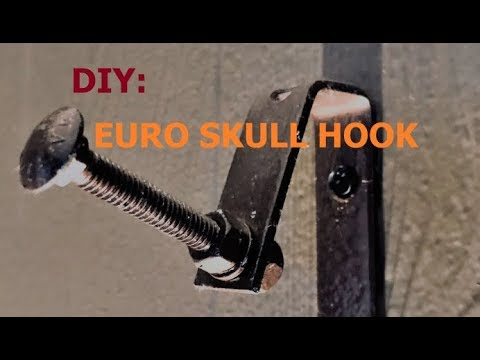 DIY: BUDGET EURO SKULL HOOK MOUNT