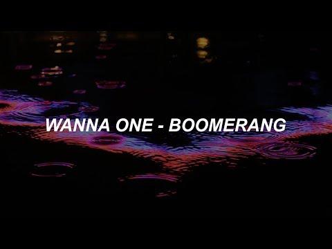 Wanna One (워너원) - 'BOOMERANG (부메랑)' Easy Lyrics