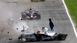 Formula 1 crashes 21st century - All my life