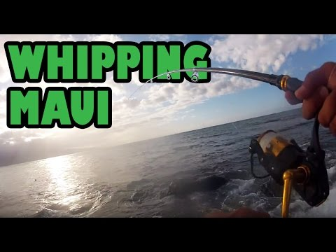 How To Fish And How Not To Fish The Maui Shore