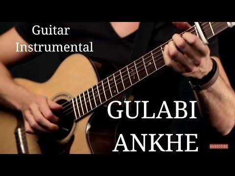 gulabi-ankhe-song-!!-guitar-instrumental-!!
