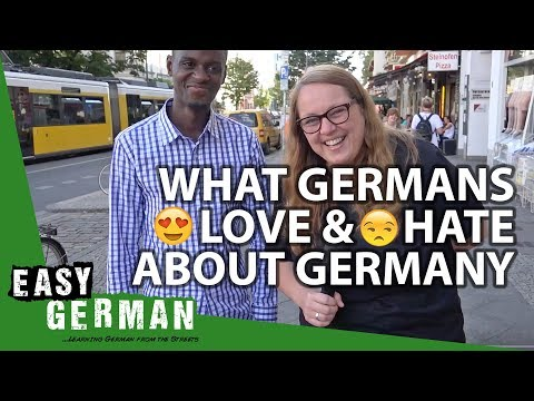 What Germans love & hate about Germany | Easy German 209