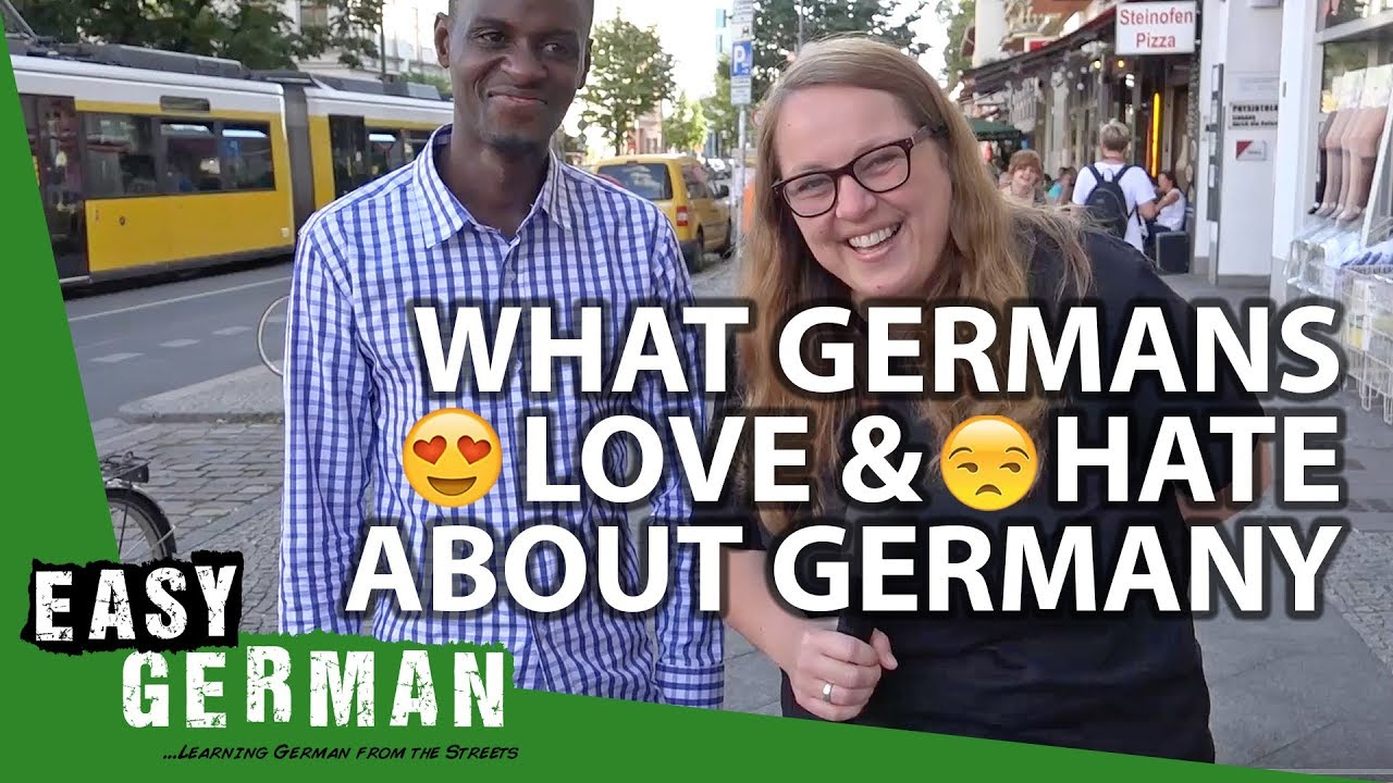 What Germans love & hate about Germany | Easy German 209 ...