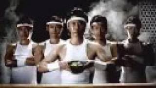 Glico's instant Donburi. Aired around Fall 2007.