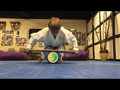 Martin Gissa karate private training. Okinawa Dojo by KarateBros.
